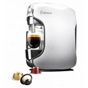 Belmoca Belina WhiteSO Pump pressure 19 bar, Capsule coffee machine, 1450  W, White, DEMO