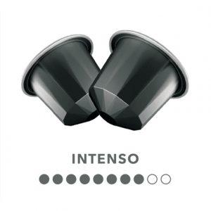 Belmoca Belmio Intenso Coffee Capsules for Nespresso coffee machines, 10 capsules, Coffee strength 8/10, 100% Arabica, 70 g