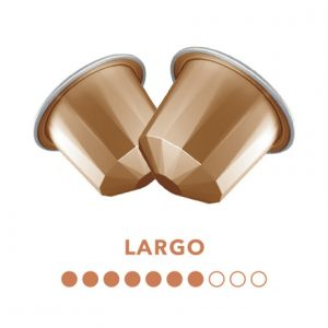 Belmoca Belmio Largo Coffee Capsules for Nespresso coffee machines, 10 capsules, Coffee strength 7/10, 100% Arabica, 70 g
