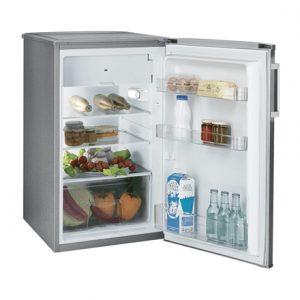 Candy Refrigerator CCTOS 502XH Free standing, Larder, Height 84 cm, A+, Fridge net capacity 84 L, Freezer net capacity 13 L, 40 dB, Stainless steel