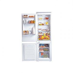 Candy Refrigerator CKBC3380EE/1 Built-in, Combi, Height 185 cm, A++, Fridge net capacity 206 L, Freezer net capacity 60 L, 42 dB, White