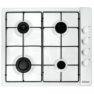 Candy Hob CLG64SPB Gas, Number of burners/cooking zones 4, White,