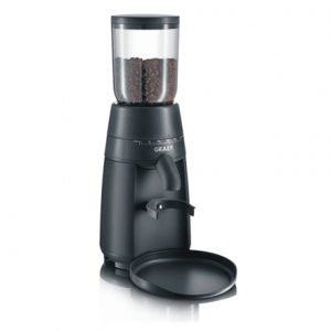 Coffee Grinder GRAEF. CM702EU 128 W, Grey, 230 g, Number of cups 28 pc(s),