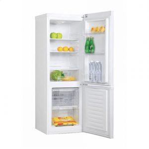 Candy Refrigerator CMFM 5142W Free standing, Combi, Height 144 cm, A+, Fridge net capacity 119 L, Freezer net capacity 42 L, 42 dB, White
