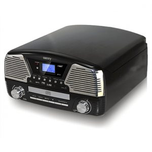 Camry Turntable with MP3/USB/SD/recording