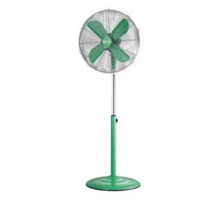 Camry CR 7312g Stand Fan, Number of speeds 3, 130 W, Oscillation, Diameter 40 cm, Green