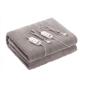 Camry Electric blanket   CR 7413  Number of heating levels 2, Number of persons 1, Washable,  2×60  W, Grey
