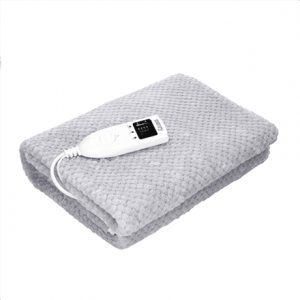 Camry Electric blanket  CR 7414 Number of heating levels 2, Number of persons 1, Washable, 60 W, Grey
