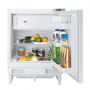 Candy Refrigerator CRU 164E Built-in, Table top, Height 82 cm, A+, Fridge net capacity 100 L, Freezer net capacity 17 L, 43 dB, White