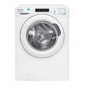 Candy Washing Machine CSS 1282D3s Front loading, Washing capacity 8 kg, 1200 RPM, A+++, Depth 52 cm, Width 60 cm, White, LED, Display,