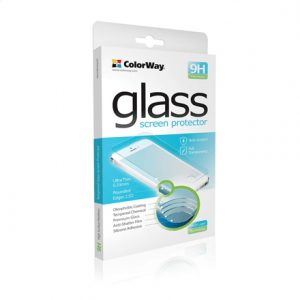 ColorWay 9H 2.5D CW-GSREAI4 Screen protector, Apple, iPhone 4/4s, Tempered glass, Transparent