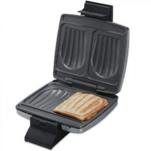 CLoer Sandwichmaker 6235 Black, Silver, 930 W