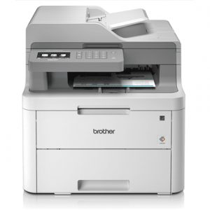 Brother Printer   DCP-L3550CD Colour, Laser, Multifunctional, A4, Wi-Fi, Grey