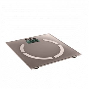 DomoClip Electronic personal scale  DOM254T Maximum weight (capacity) 180 kg, Accuracy 100 g, Memory function, 10 user(s), Taupe