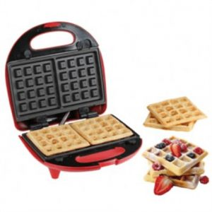 DomoClip 3 in 1 Sandwich Press grill waffle DOP133 Red, 700 W, Number of plates 3, Number of sandwiches 2