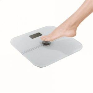 DomoClip Bathroom scale DOS163 Maximum weight (capacity) 180 kg, Accuracy 100 g, Multiple user(s), White