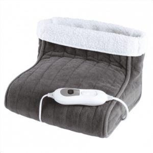 DomoClip Foot warmer DOW101 Number of heating levels 3, Number of persons 1, Washable, Remote control, 100% polyester, 100 W, Grey