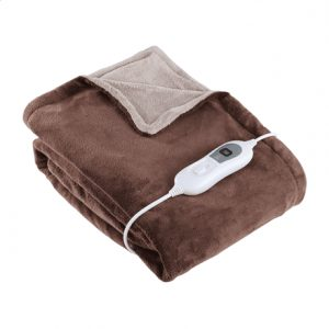 DomoClip Bed Warmer  DOW103 Number of heating levels 3, Number of persons 1, Washable, Remote control,  Micro plush two-tone made of 100% polyester, 120 W, Brown