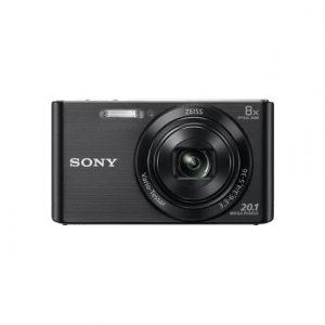 Sony Cyber-shot DSC-W830 Compact camera, 20.1 MP, Optical zoom 8 x, Digital zoom 32 x, ISO 3200, Display diagonal 6.86 cm, Video recording, Lithium, Black