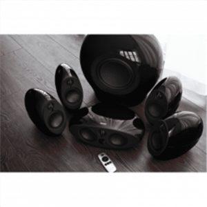 Edifier e255 Speaker type 5.1, 3.5mm/Optical/Coaxial, Black, 385 W