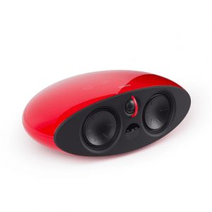 Edifier e255 Speaker type 5.1, 3.5mm/Optical/Coaxial, Red, 385 W