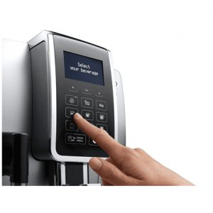 Delonghi Coffee maker ECAM 350.75 SB Pump pressure 15 bar, Built-in milk frother, Fully automatic, 1450 W, Silver