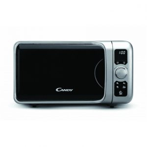 Candy Microwave oven EGO G25D CS 25 L, Grill, Buttons, Rotary, 900 W, Silver, Free standing, Defrost function