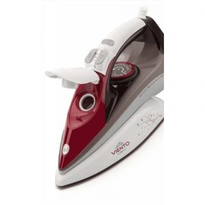 ETA ETA628490020 Burgundy/ brown, 2400 W, Steam iron, Continuous steam 40 g/min, Steam boost performance 170 g/min, Auto power off, Anti-drip function, Anti-scale system, Vertical steam function, Water tank capacity 300 ml