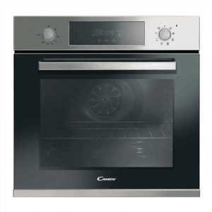 Candy Oven FCP625XL Electric, 69 L, Stainless steel, Steam cleaning, A+, Rotary knobs/ electronic, Height 60 cm, Width 60 cm, Built-in