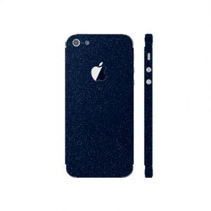 3MK Ferya SkinCase Back cover, Apple, iPhone 5S, Protective foil, Dark Blue
