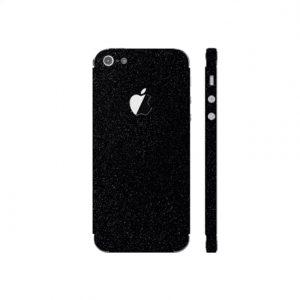 3MK Ferya SkinCase Back cover, Apple, iPhone 5S, Protective foil, Glossy Black