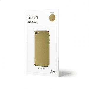 3MK Ferya SkinCase Back cover, Apple, iPhone 5S, Protective foil, Glossy Gold
