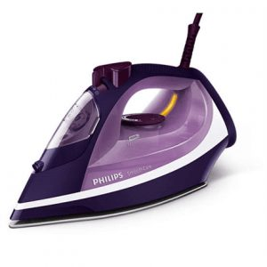 Philips Iron GC3584/30 Purple, 2600 W, Steam iron, Continuous steam 40 g/min, Steam boost performance 180 g/min, Auto power off, Anti-drip function, Anti-scale system, Vertical steam function, Water tank capacity 400 ml