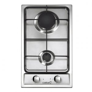CATA GI 302 Gas, Number of burners/cooking zones 2, Stainless steel