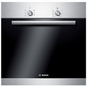 Bosch Oven HBA20B152S Built-in, 66 L, Stainless steel, A, Push-pull buttons, Height 60 cm, Width 60 cm, Electric