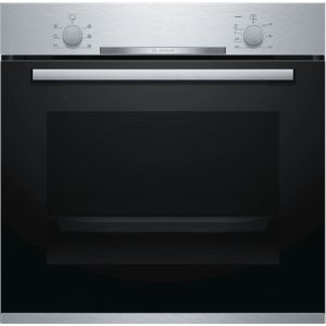 Bosch Oven HBA530BB0S Built-in, 71 L, Stainless steel, Eco Clean, A, Push pull buttons, Height 60 cm, Width 60 cm, Integrated timer, Electric