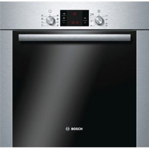 Bosch Oven HBA63S251S 63 L, Stainless steel, Pyrolytic self-cleaning function, Height 59.5 cm, Width 59.5 cm, Built-in Multifunctional Oven