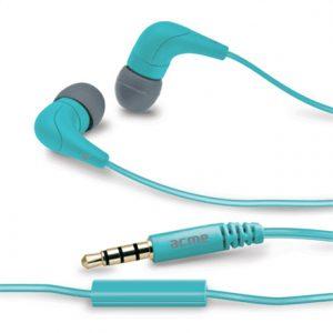 Acme HE15B Groovy in-ear headphones with mic