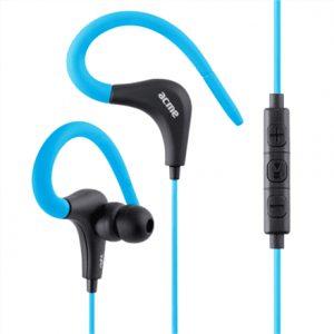 Acme Sport earphones HE17B 3.5 mm, Blue/Black, Built-in microphone