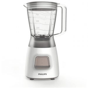 Blender Philips Daily Collection HR2052 White, 350 W, Plastic, 1.25 L, Ice crushing,
