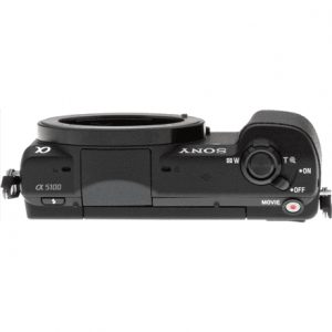 """Sony ILCE5100B.CEC Mirrorless Camera body, 24.3 MP, ISO 25600, Display diagonal 3.0 """", Video recording, Wi-Fi, Black, Image stabilization supported on lens"""