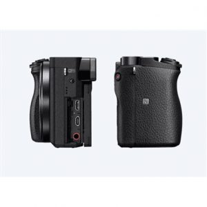 """Sony ILCE6300B.CEC Mirrorless Camera Kit, 24.2 MP, ISO 51200, Display diagonal 3.0 """", Video recording, Wi-Fi, Magnification 1.07 x, CMOS, Black, Image stabilization supplied by lens"""