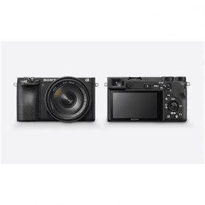 Sony ILCE6500B.CEC Mirrorless Camera body, 24.2 MP, ISO 51200, Display diagonal 7.49 cm, Video recording, Wi-Fi, TTL, Magnification 1.07 x, CMOS, Black, Image sensor size (W x H) 23.5 x 15.6 mm