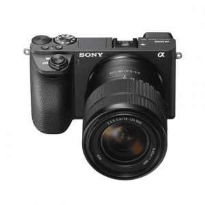 """Sony ILCE6500MB.CEC Body + 18-135mm Zoom Lens Mirrorless Camera Kit, 24.2 MP, ISO 51200, Display diagonal 3.0 """", Video recording, Wi-Fi, Fast Hybrid AF, Exmor CMOS, Black"""