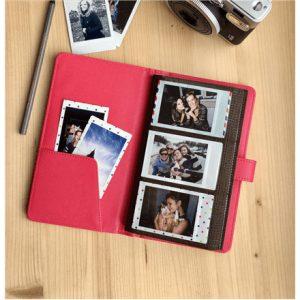 Fujifilm LAPORTA Instax mini photo Album, Pink, 120 photos