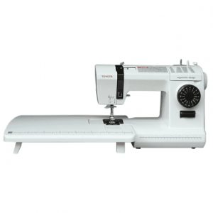 Sewing machine Toyota JNS17CT White, Number of stitches 17, Automatic threading