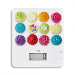 ADE Kitchen Scale Tifanny  KE1721 Maximum weight (capacity) 5 kg, Graduation 1 g, Display type LCD, Variable