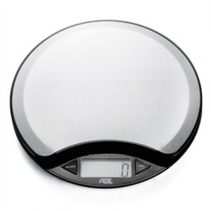 ADE Kitchen Scale KE 854 ANJA Maximum weight (capacity) 5 kg, Graduation 1 g, Display type LCD, Silver