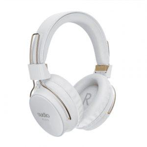 Sudio Wireless Noice canceling Headphones KLAR Bluetooth, Microphone, White
