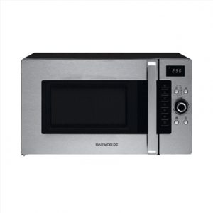 DAEWOO Microwave oven KOC-9Q4T 28 L, Buttons, Rotary, 900 W, Inox, Free standing, Defrost function